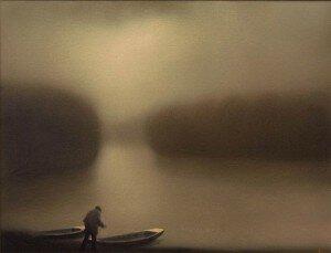 čamac u magli