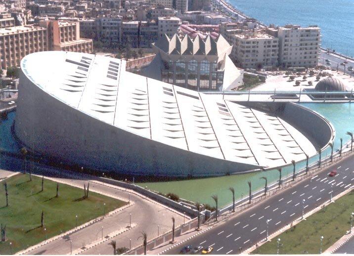 Aleksandrijska biblioteka 2 - novo zdanje