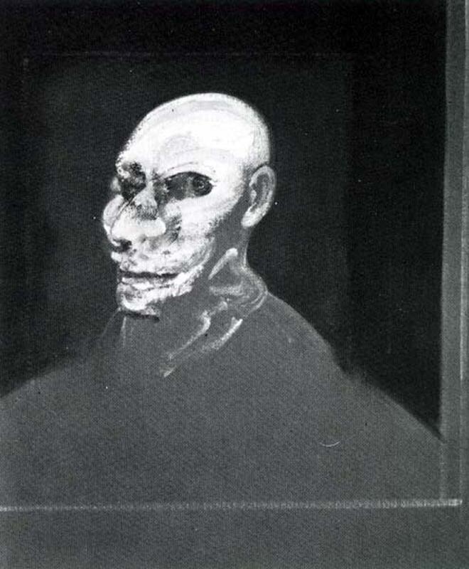 Francis Bacon - Head of man