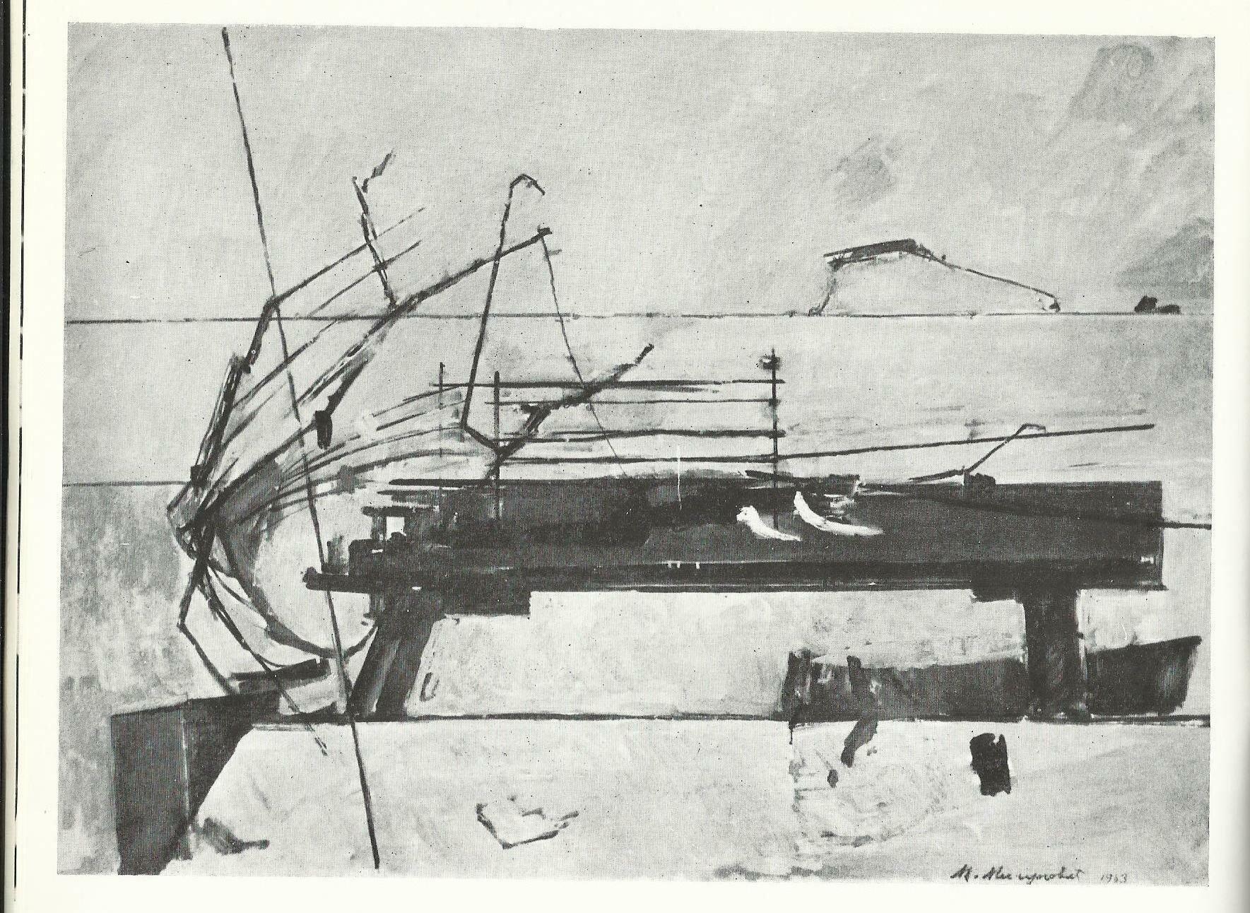Milunovi-ç, Nedelja, ulje (1964)
